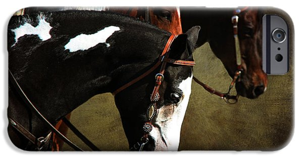 Horse iPhone Cases - Ahead of the Rest iPhone Case by Davandra Cribbie