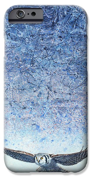 Storm Paintings iPhone Cases - Ahead of the Storm iPhone Case by James W Johnson