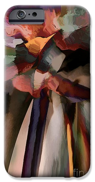 Recently Sold -  - Abstract Digital Art iPhone Cases - Ahhh Harmony iPhone Case by Margie Chapman