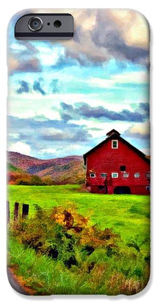 Ah...West Virginia oil iPhone Case by Steve Harrington