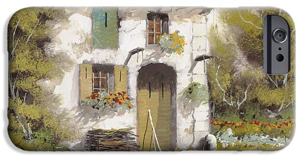 House iPhone Cases - Aia iPhone Case by Guido Borelli