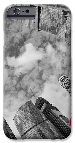 Aim high iPhone Case by Maurizio Bacciarini