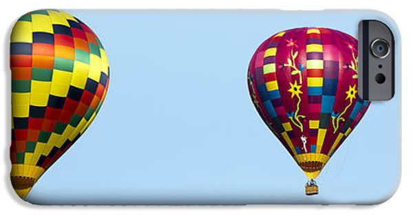 Hot Air Balloon iPhone Cases - Air Balloons  0208 iPhone Case by Terri Winkler