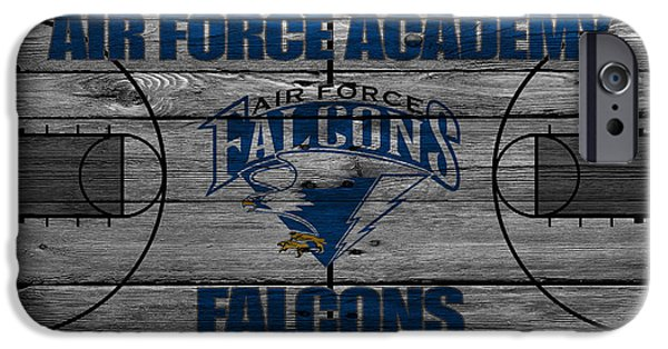 Air Force One iPhone Cases - Air Force Falcons iPhone Case by Joe Hamilton