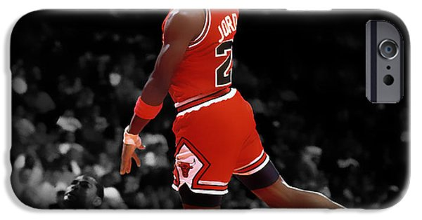 Dunk iPhone Cases - Air Jordan I Believe I Can Fly iPhone Case by Brian Reaves