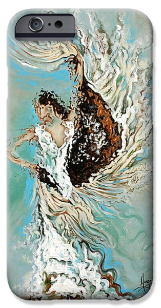 Human Figure iPhone Cases - Air iPhone Case by Karina Llergo Salto
