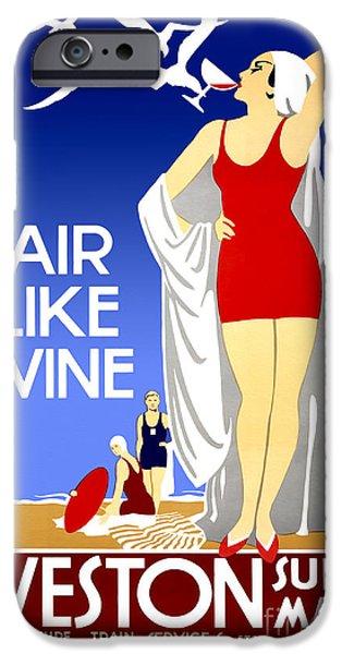 Fashion Design Art iPhone Cases - Air Like Wine iPhone Case by Jon Neidert