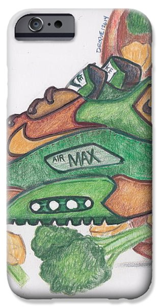 Air Max 90 CNB iPhone Case by Dallas Roquemore