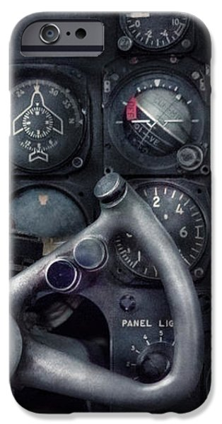 Air - The Cockpit iPhone Case by Mike Savad