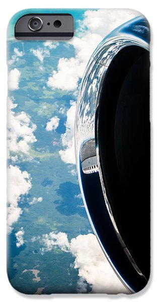 Engine iPhone Cases - Tropical Skies iPhone Case by Parker Cunningham