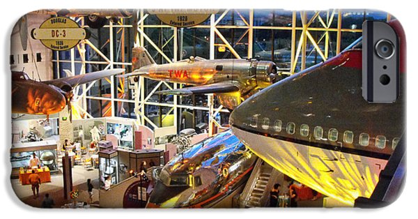 Smithsonian iPhone Cases - Airplanes in the Air iPhone Case by Rick Jackson