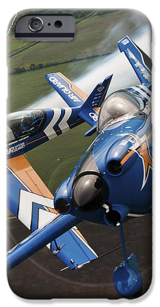 Airplanes Perform At The Sound Of Speed iPhone Case by Stocktrek Images