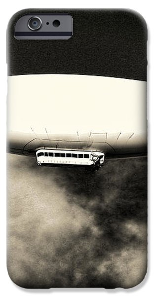 Airship iPhone Case by Olivier Le Queinec