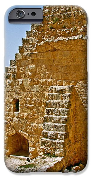 Ajlun Castle in Jordan iPhone Case by Ruth Hager