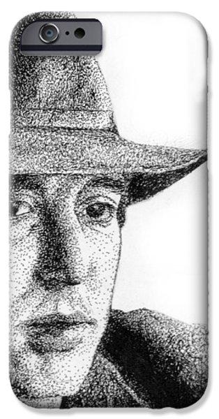 Al Pacino iPhone Cases - Al iPhone Case by Alessandro Della Pietra