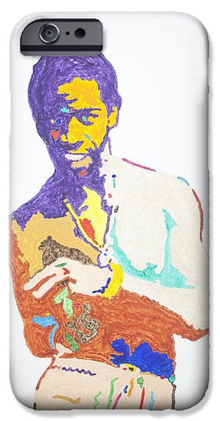 Smooth Criminal iPhone Cases - Al Green iPhone Case by Stormm Bradshaw