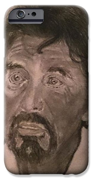 Al Pacino Drawings iPhone Cases - Al Pacino iPhone Case by Sarah  Ahmad