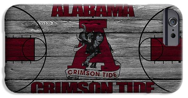 Dunk iPhone Cases - Alabama Crimson Tide iPhone Case by Joe Hamilton