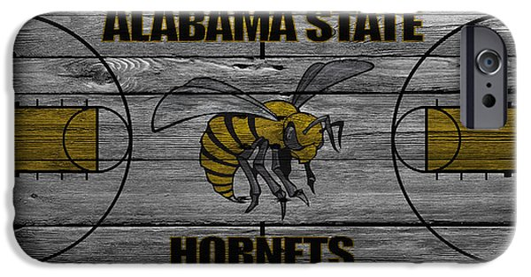 Hornet iPhone Cases - Alabama State Hornets iPhone Case by Joe Hamilton
