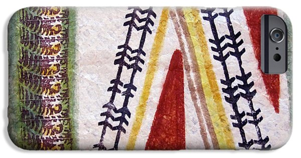 Tribal Tapestries - Textiles iPhone Cases - Alae Kapa iPhone Case by Dalani Tanahy