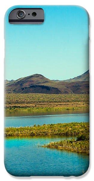 Alamo Lake iPhone Case by Robert Bales