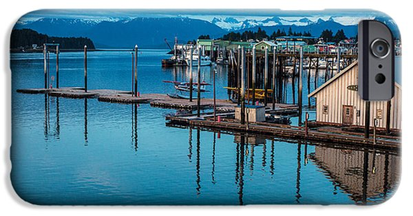 Norway iPhone Cases - Alaska Seaplanes iPhone Case by Mike Reid