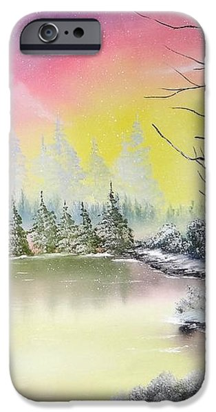 Alaskan Sunset iPhone Case by Kevin  Brown
