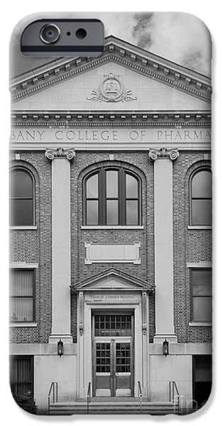 Albany College of Pharmacy O' Brien Building iPhone Case by University Icons