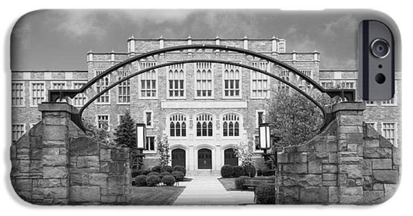 Albany iPhone Cases - Albany Law School Gate iPhone Case by University Icons