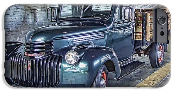 Alcatraz iPhone Cases - Alcatraz 1940 Chevy Utility Truck iPhone Case by Daniel Hagerman