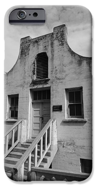 Alcatraz iPhone Cases - Alcatraz Building iPhone Case by Gwendolyn Barnhart