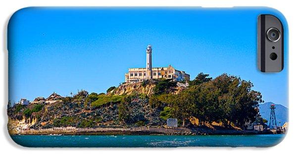 Alcatraz iPhone Cases - Alcatraz Island iPhone Case by James O Thompson