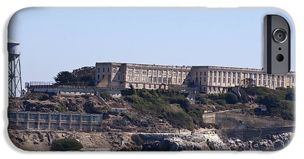 Alcatraz iPhone Cases - Alcatraz Island iPhone Case by Jason O Watson