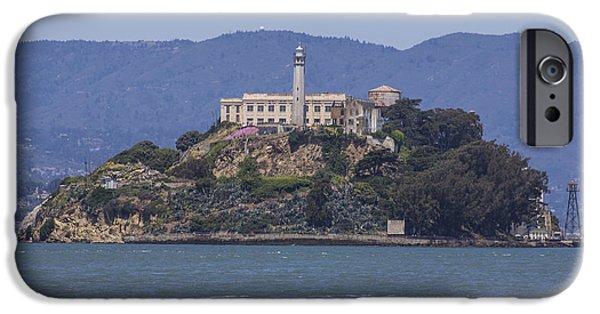 Alcatraz iPhone Cases - Alcatraz Island iPhone Case by John McGraw