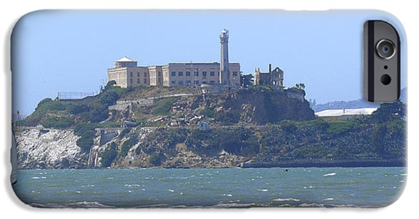 Best Sellers -  - Alcatraz iPhone Cases - Alcatraz Island iPhone Case by Mike McGlothlen