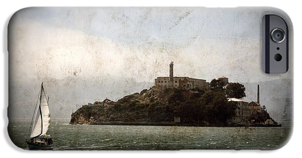 Alcatraz iPhone Cases - Alcatraz Island iPhone Case by RicardMN Photography