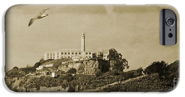 Alcatraz iPhone Cases - Alcatraz San Francisco iPhone Case by John Malone