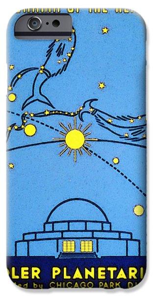 Alder Planetarium iPhone Case by The  Vault - Jennifer Rondinelli Reilly