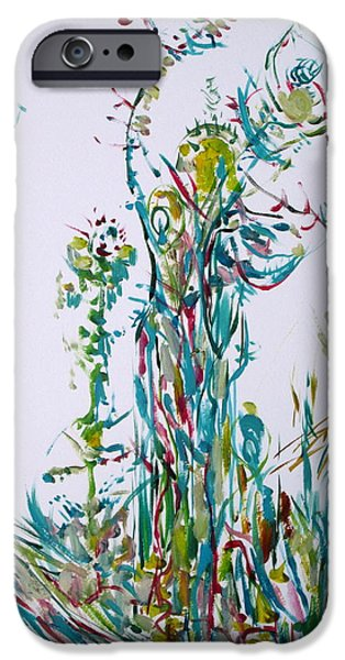 Mounds Paintings iPhone Cases - Alea Iacta Est.good Luck iPhone Case by Fabrizio Cassetta