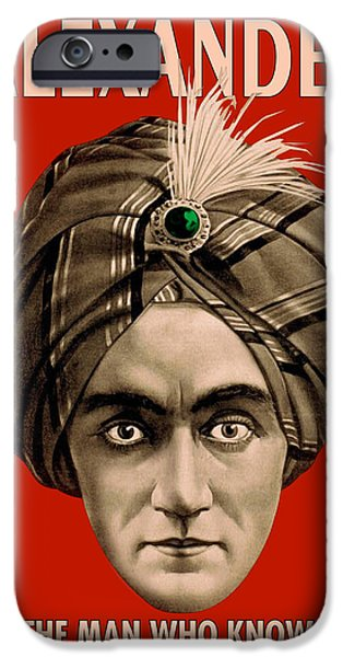 Antiques iPhone Cases - Alexander Knows iPhone Case by Gary Grayson