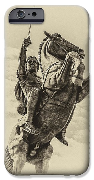 Fontain iPhone Cases - Alexander the Great iPhone Case by Yevgeni Kacnelson