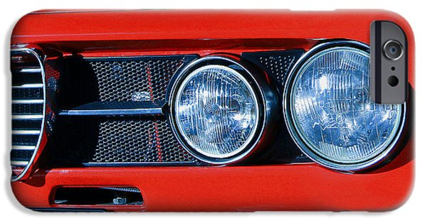 Alfa Romeo Gtv iPhone Cases - Alfa Romeo iPhone Case by Carlton Boyce