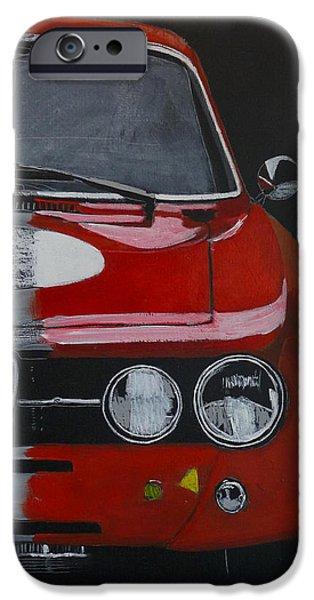 Alfa Romeo Gtv iPhone Cases - Alfa Romeo GTV  iPhone Case by Richard Le Page
