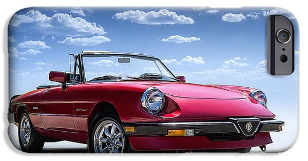 Convertible iPhone Cases - Alfa Spider iPhone Case by Douglas Pittman