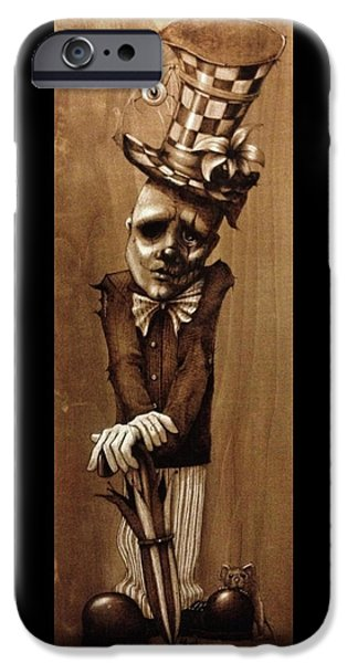 Recently Sold -  - Strange iPhone Cases - Alfred Cobwebs iPhone Case by Suzanne Roach