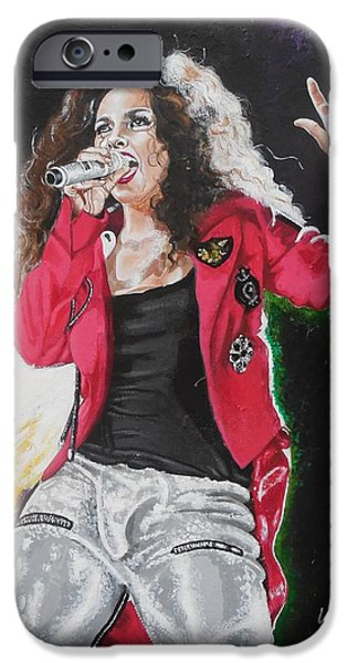 Valdengrave iPhone Cases - Alicia Keys iPhone Case by Valdengrave Okumu