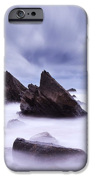 Alien land iPhone Case by Jorge Maia