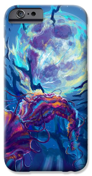 Epic iPhone Cases - Two worlds iPhone Case by Yusniel Santos