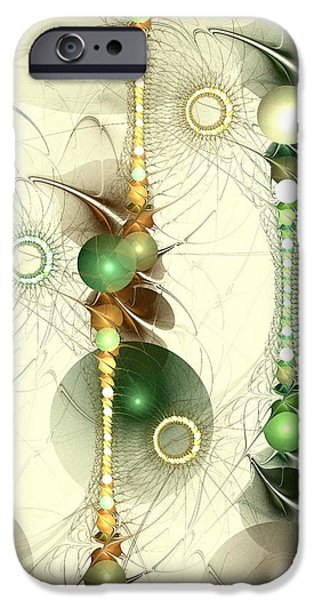 Concept Mixed Media iPhone Cases - Alignment iPhone Case by Anastasiya Malakhova