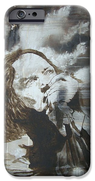 Pearl Jam Paintings iPhone Cases - Alive iPhone Case by Stuart Engel